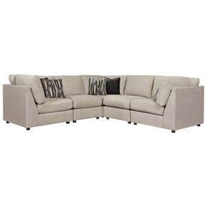 Contemporary 5-Piece Sectional