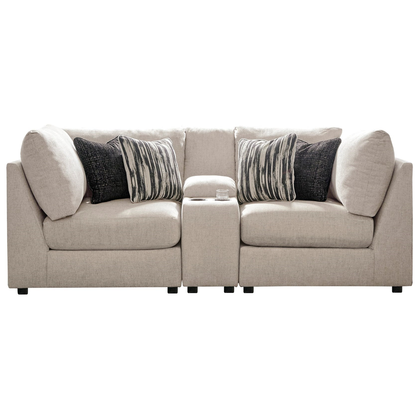 Kellway Console Loveseat by Signature at Walker's Furniture