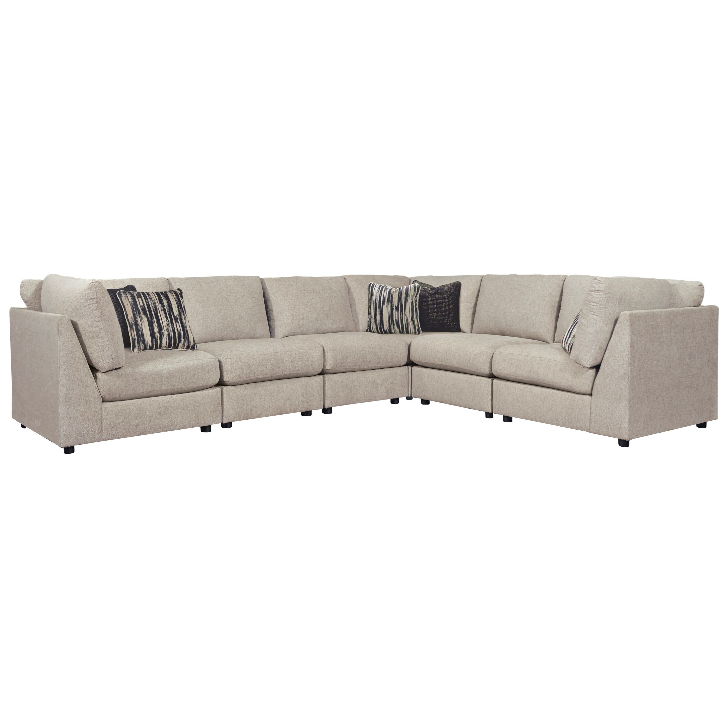 Kellway 6-Piece Sectional by Signature at Walker's Furniture