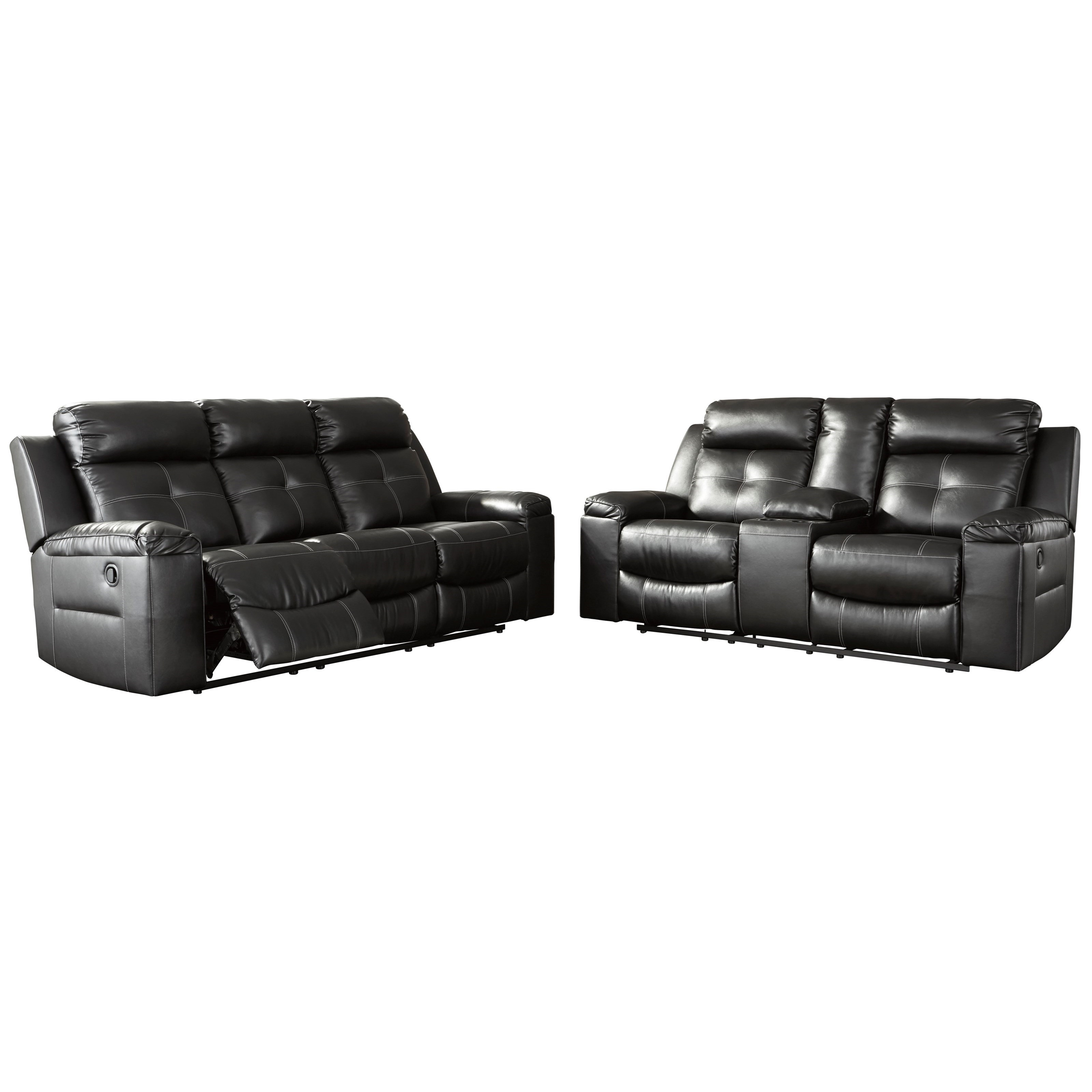 Kempten Reclining Living Room Group by Ashley (Signature Design) at Johnny Janosik