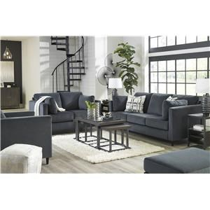 Shadow Sofa, Chair and Ottoman Set