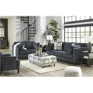 Shadow Sofa, Loveseat and Accent Chair Set