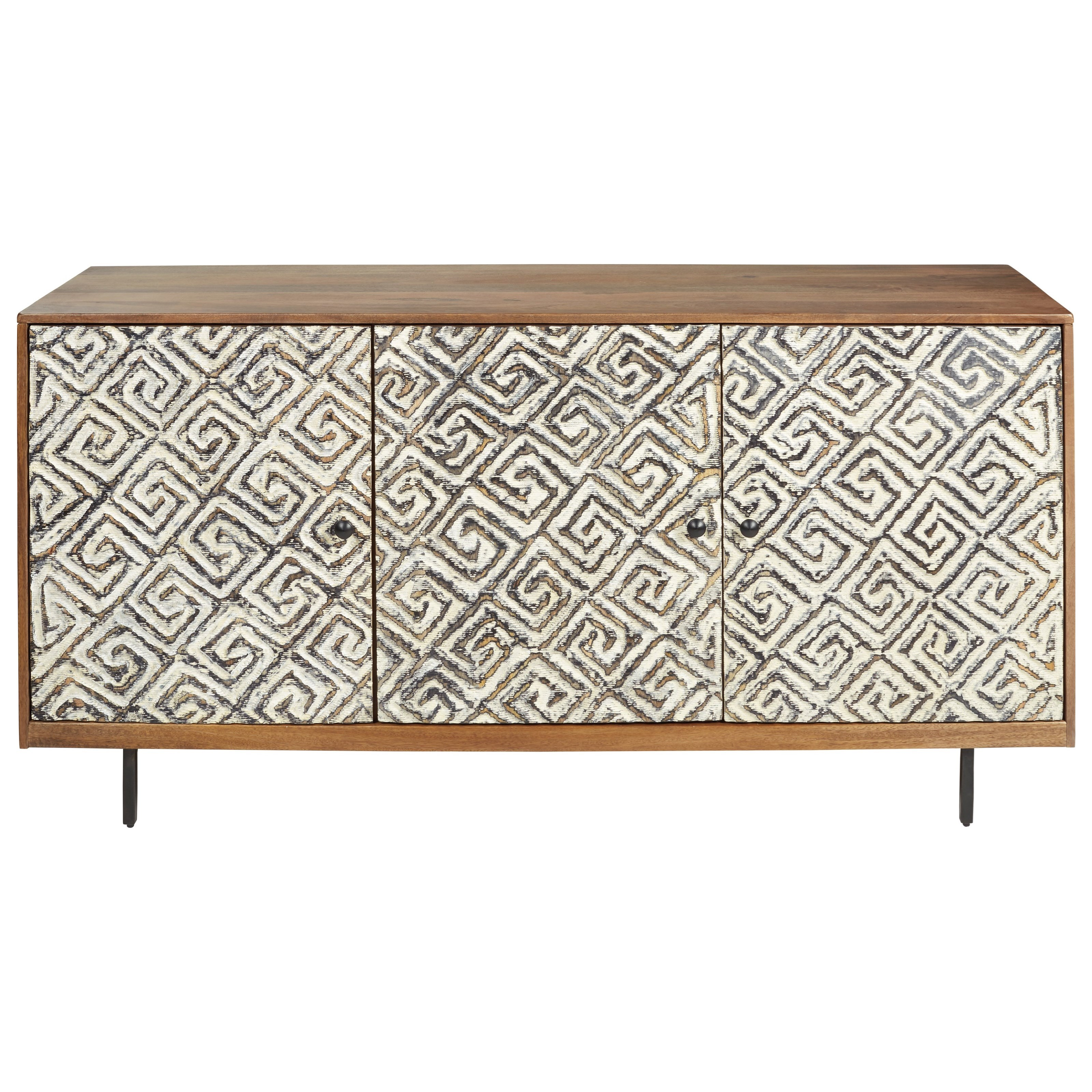 Kerrings Accent Cabinet by Signature Design by Ashley at Northeast Factory Direct