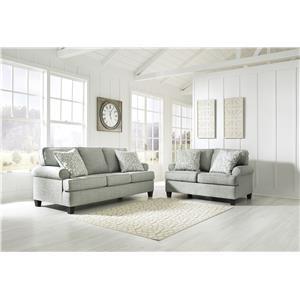 Mist Sofa and Loveseat Set