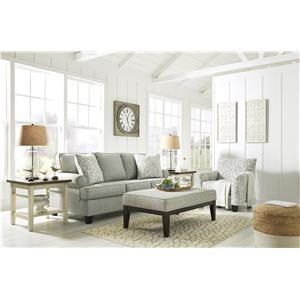 Mist Sofa, Accent Chair and Accent Ottoman Set