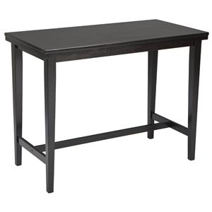 Contemporary Rectangular Dining Room Counter Table