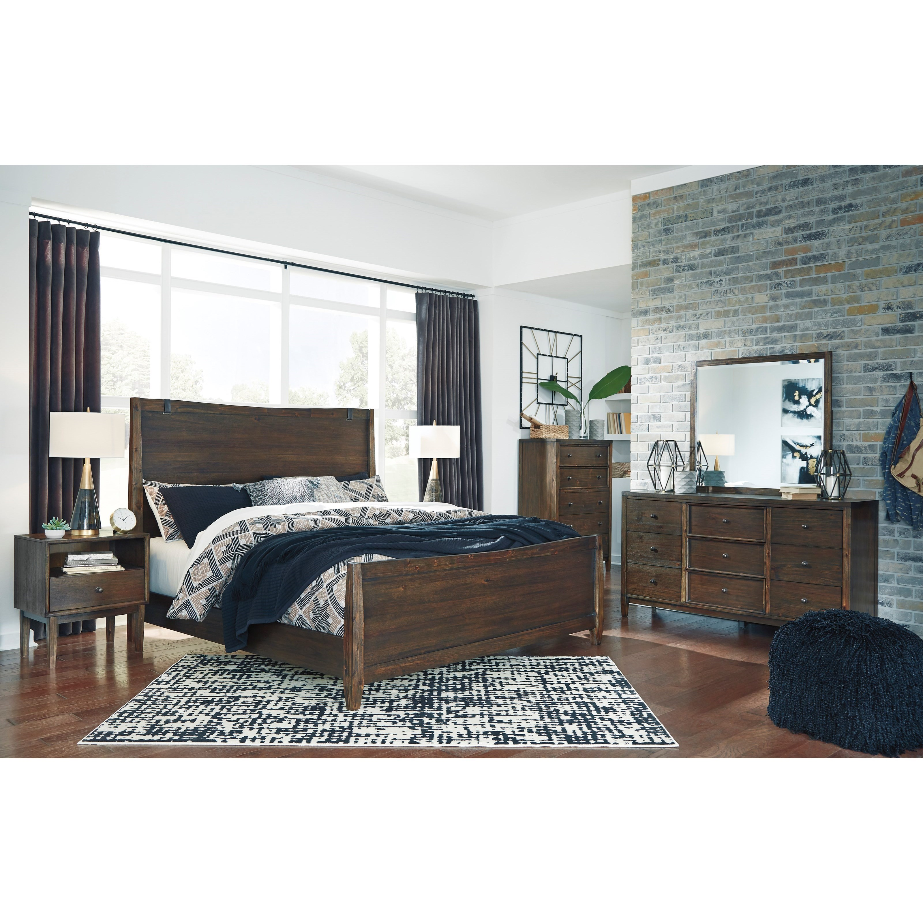Kisper King Bedroom Group by Signature Design by Ashley at Beck's Furniture