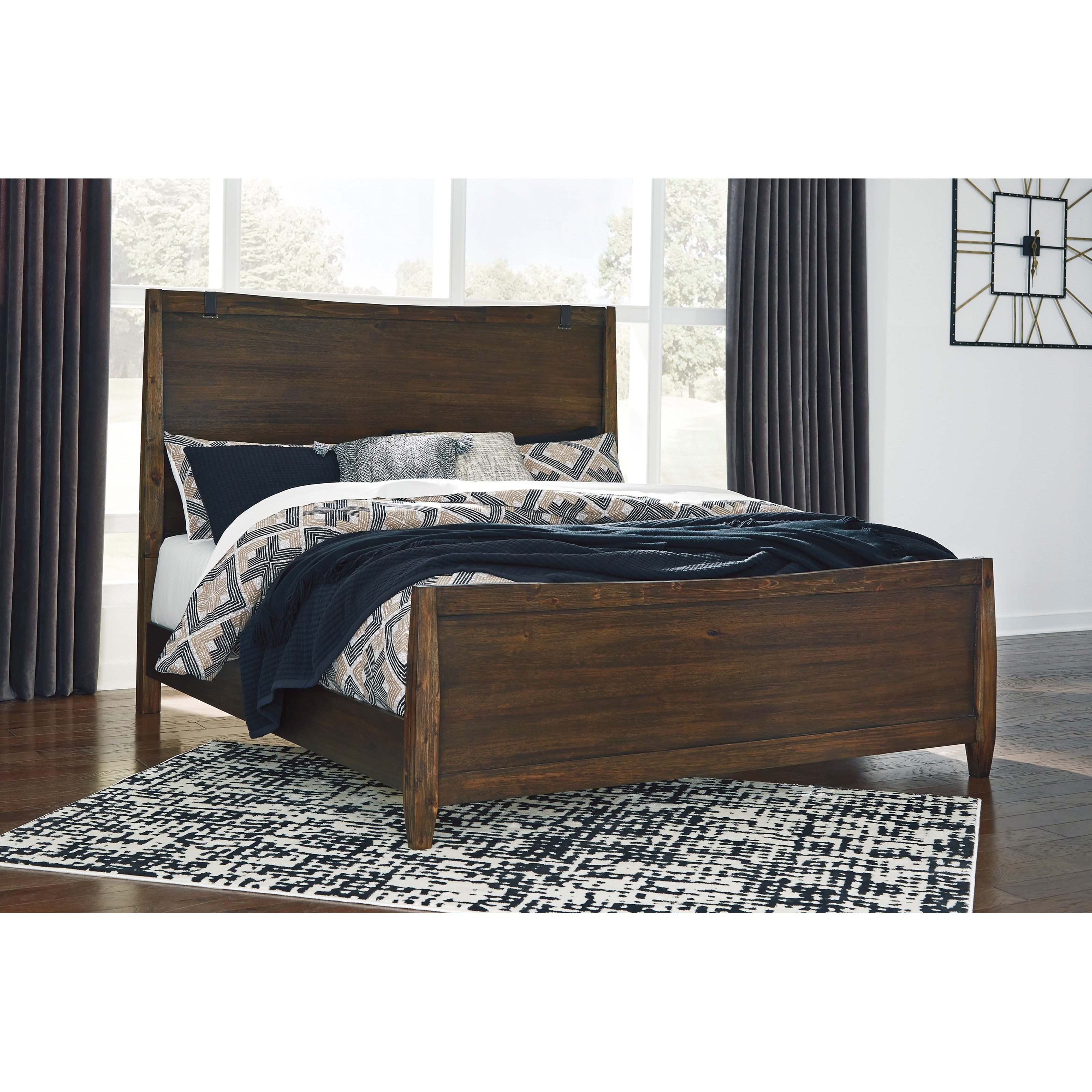 Kisper California King Panel Bed by Signature Design by Ashley at Furniture and ApplianceMart