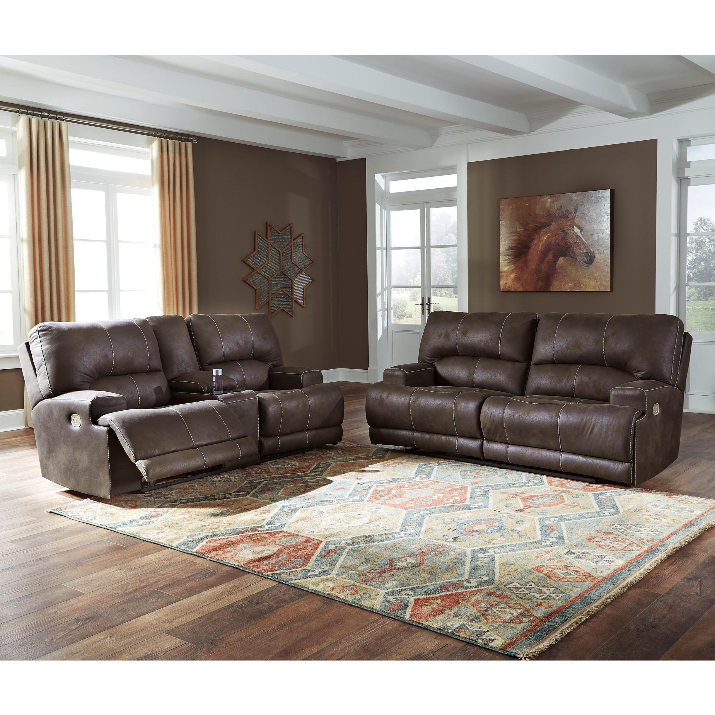 Kitching Power Reclining Living Room Group by Signature Design by Ashley at Northeast Factory Direct