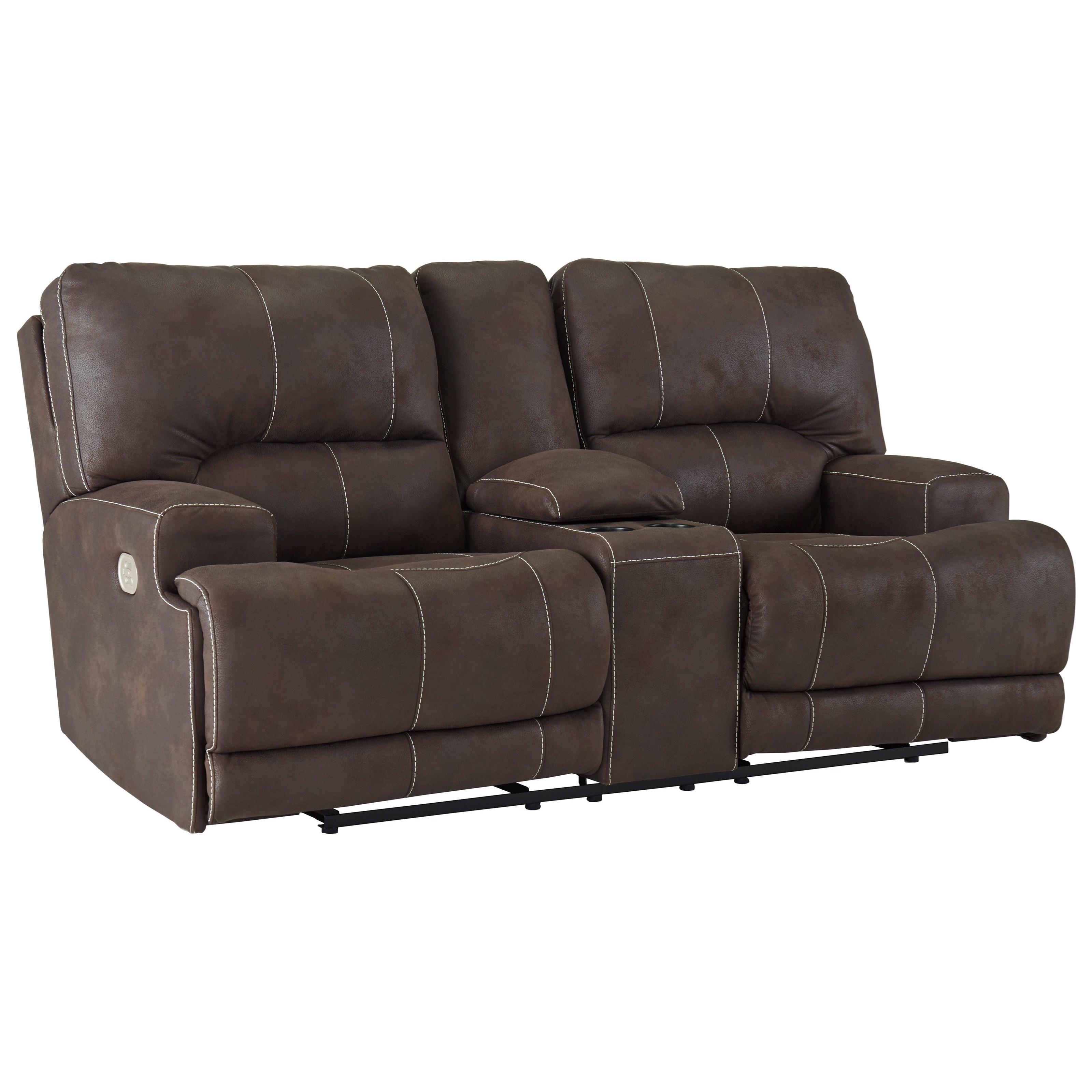 Kitching Power Reclining Console Loveseat by Signature Design by Ashley at Value City Furniture