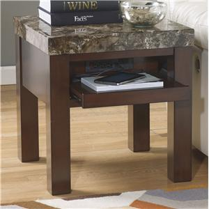 Signature Design by Ashley Kraleene Square End Table