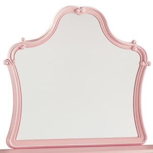 Blush Pink Bedroom Mirror