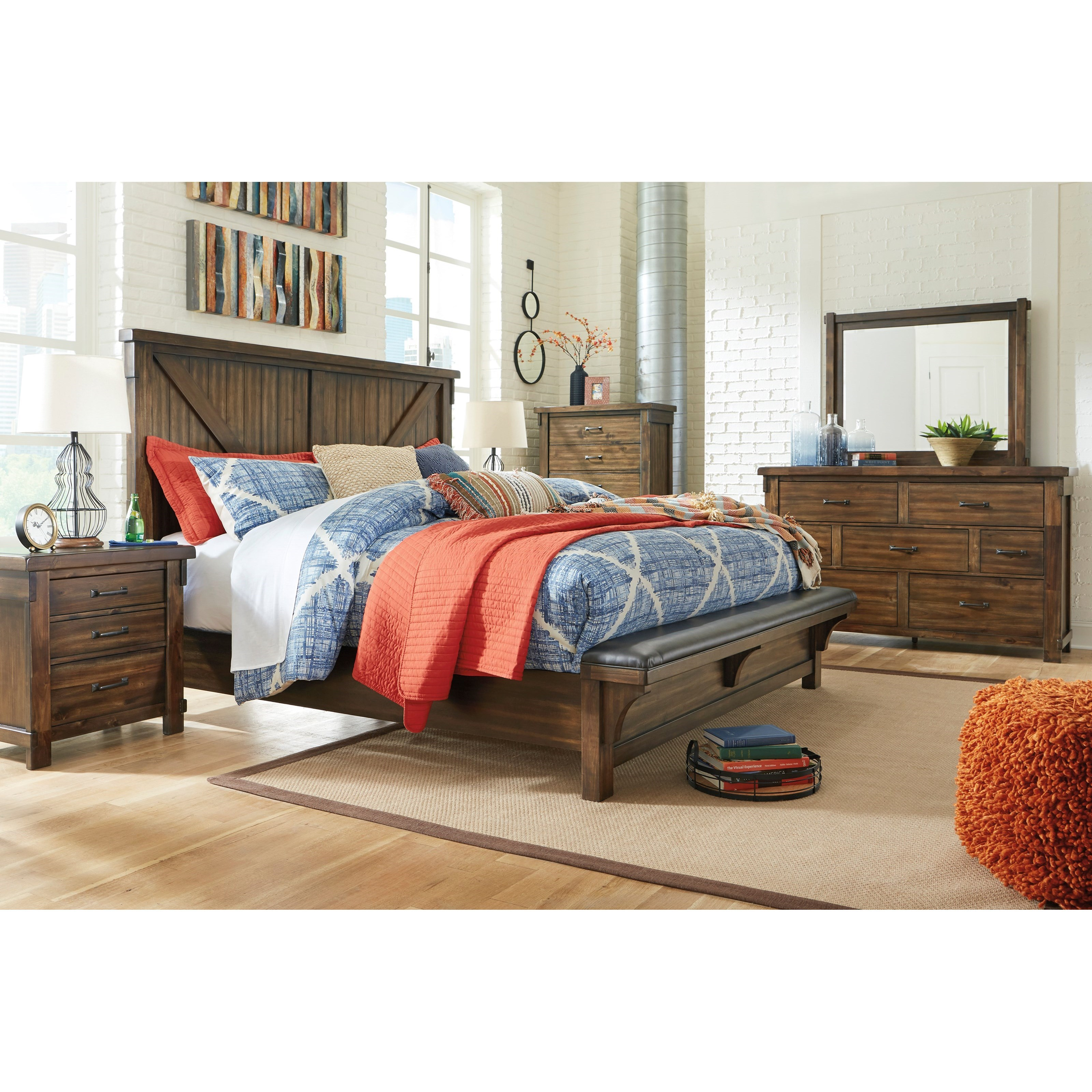 Lakeleigh Queen Bedroom Group by Ashley (Signature Design) at Johnny Janosik
