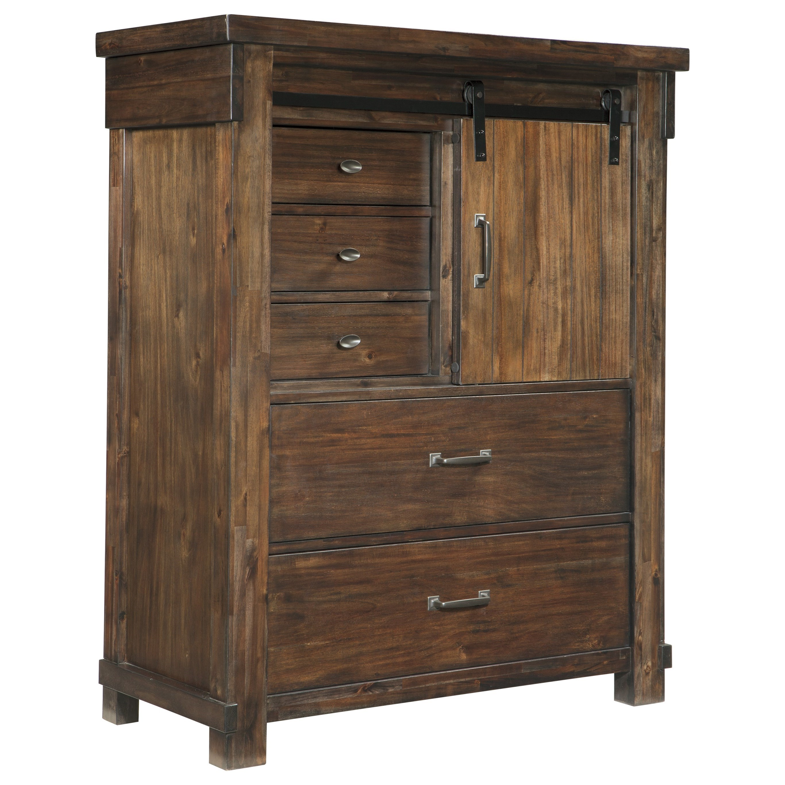 Lakeleigh Five Drawer Chest by Signature Design by Ashley at Beck's Furniture