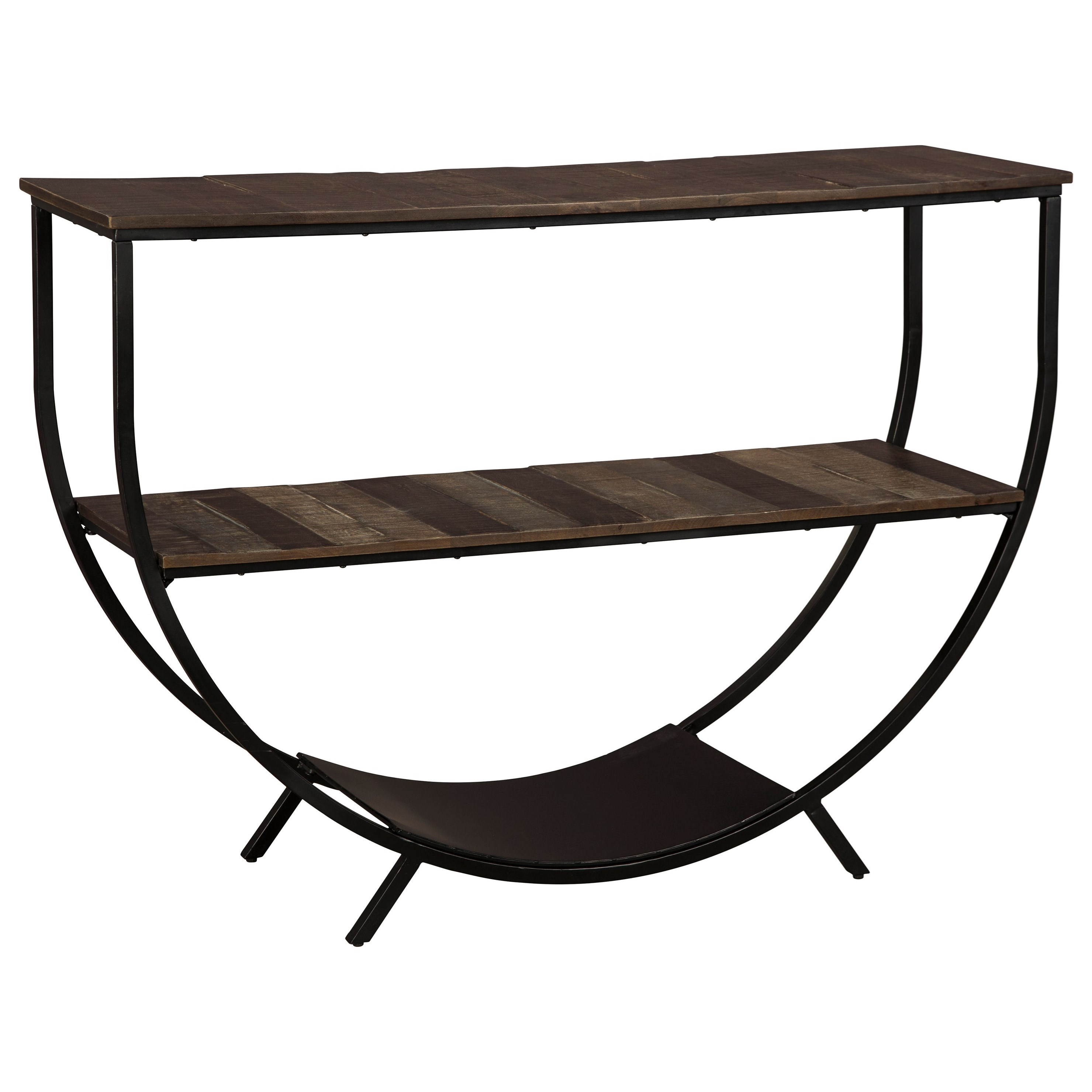 Lamoney Console Sofa Table by Signature at Walker's Furniture