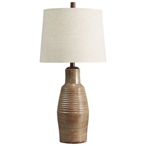 Calixto Terracotta Table Lamp