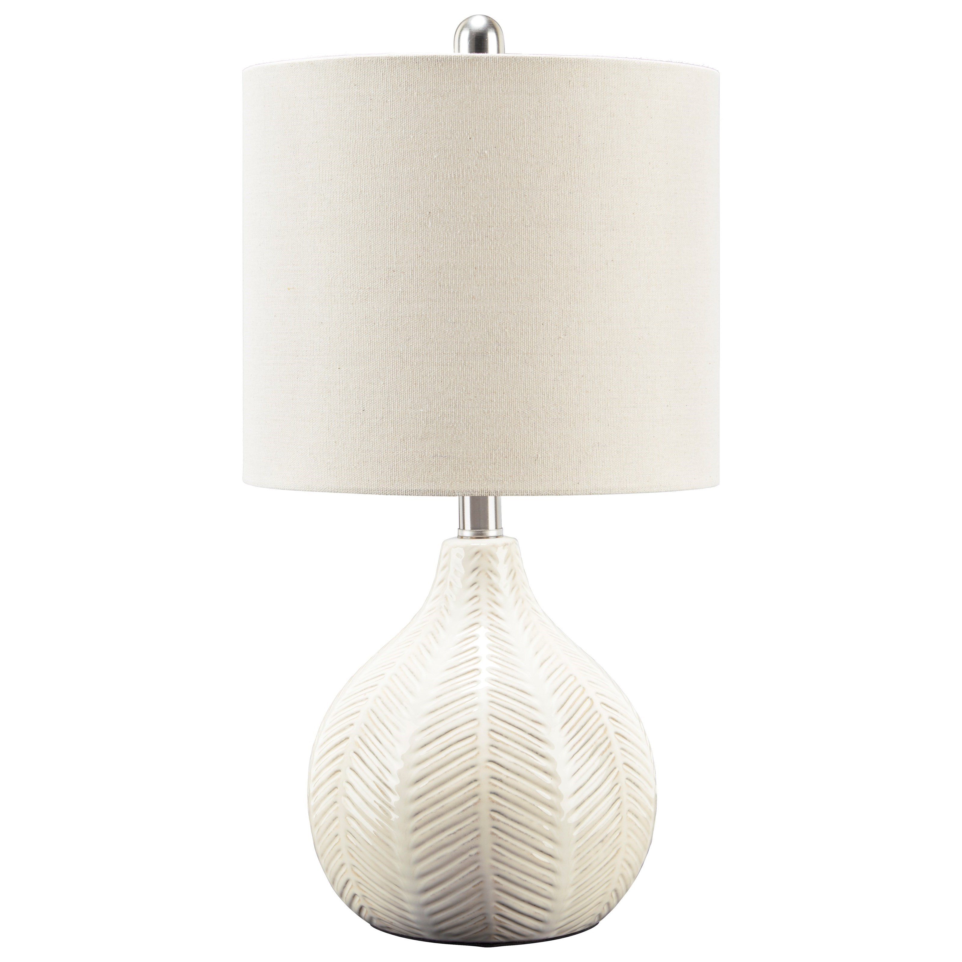 Lamps - Casual Rainermen Off White Table Lamp by Signature Design by Ashley at Furniture Barn