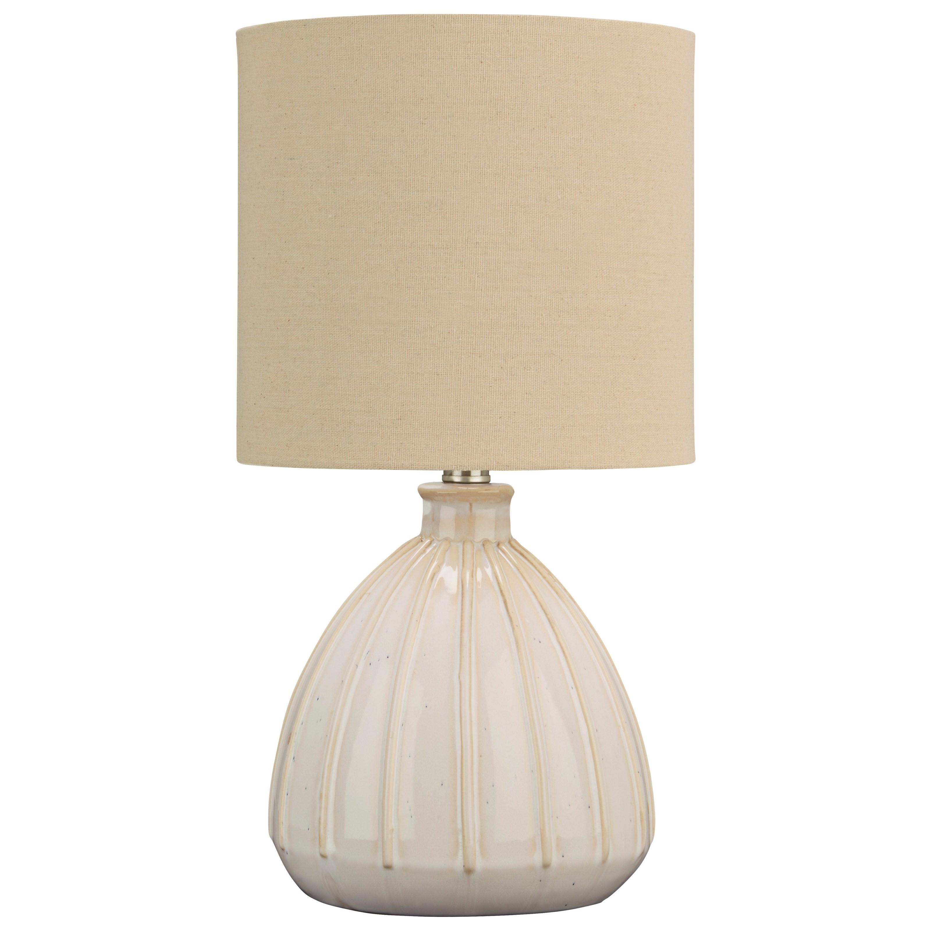 Grantner Off White Ceramic Table Lamp