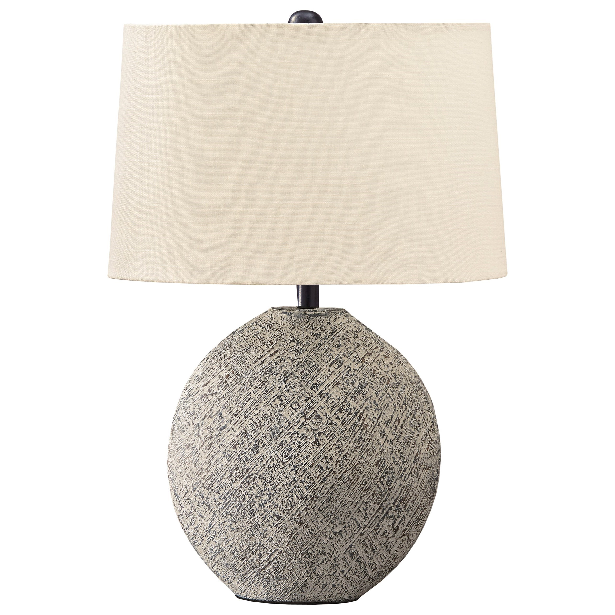 Lamps - Casual Harif Beige Table Lamp by Vendor 3 at Becker Furniture