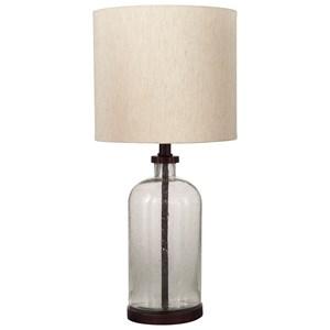 Bandile Clear/Bronze Finish Table Lamp