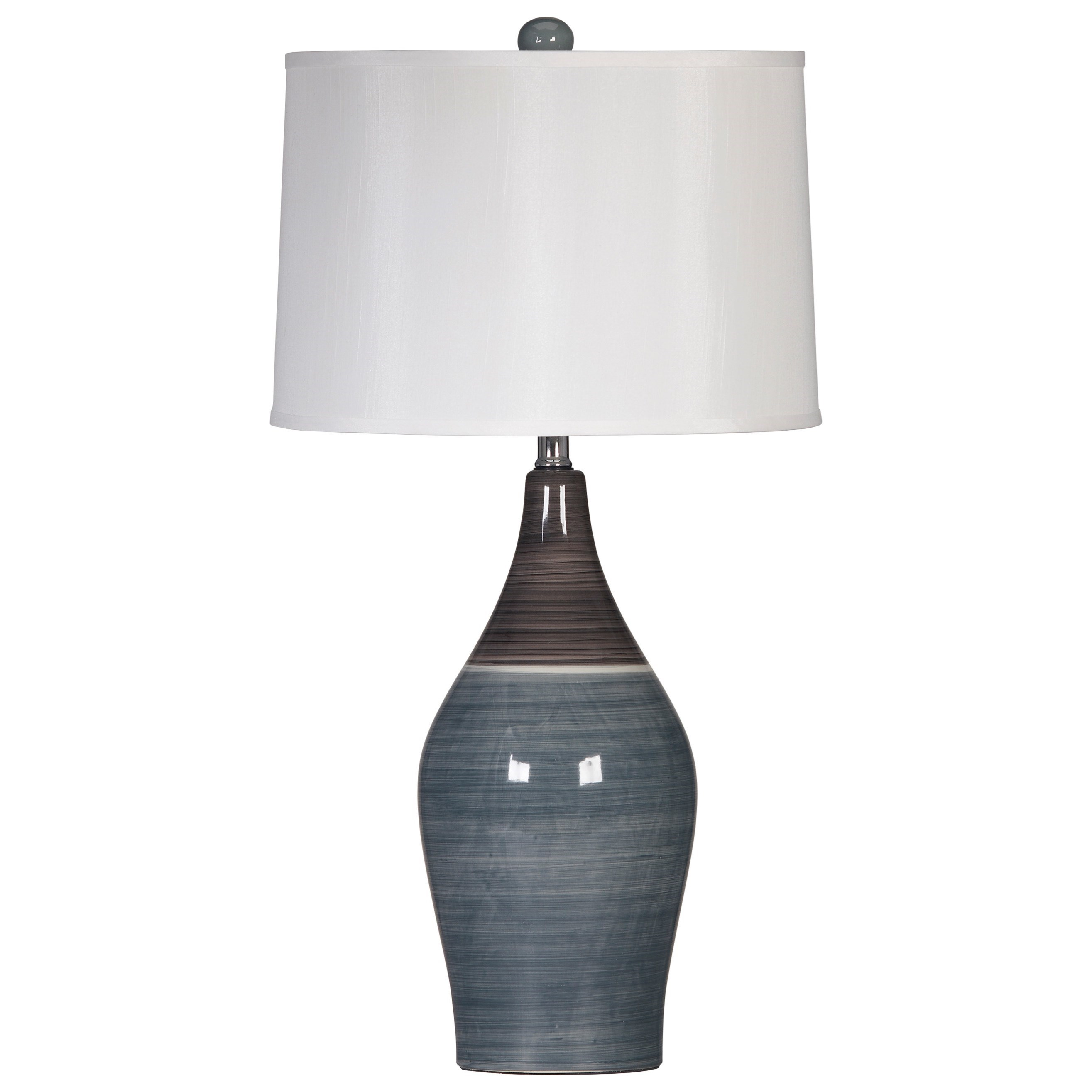 Lamps - Contemporary Set of 2 Niobe Table Lamps by Signature at Walker's Furniture