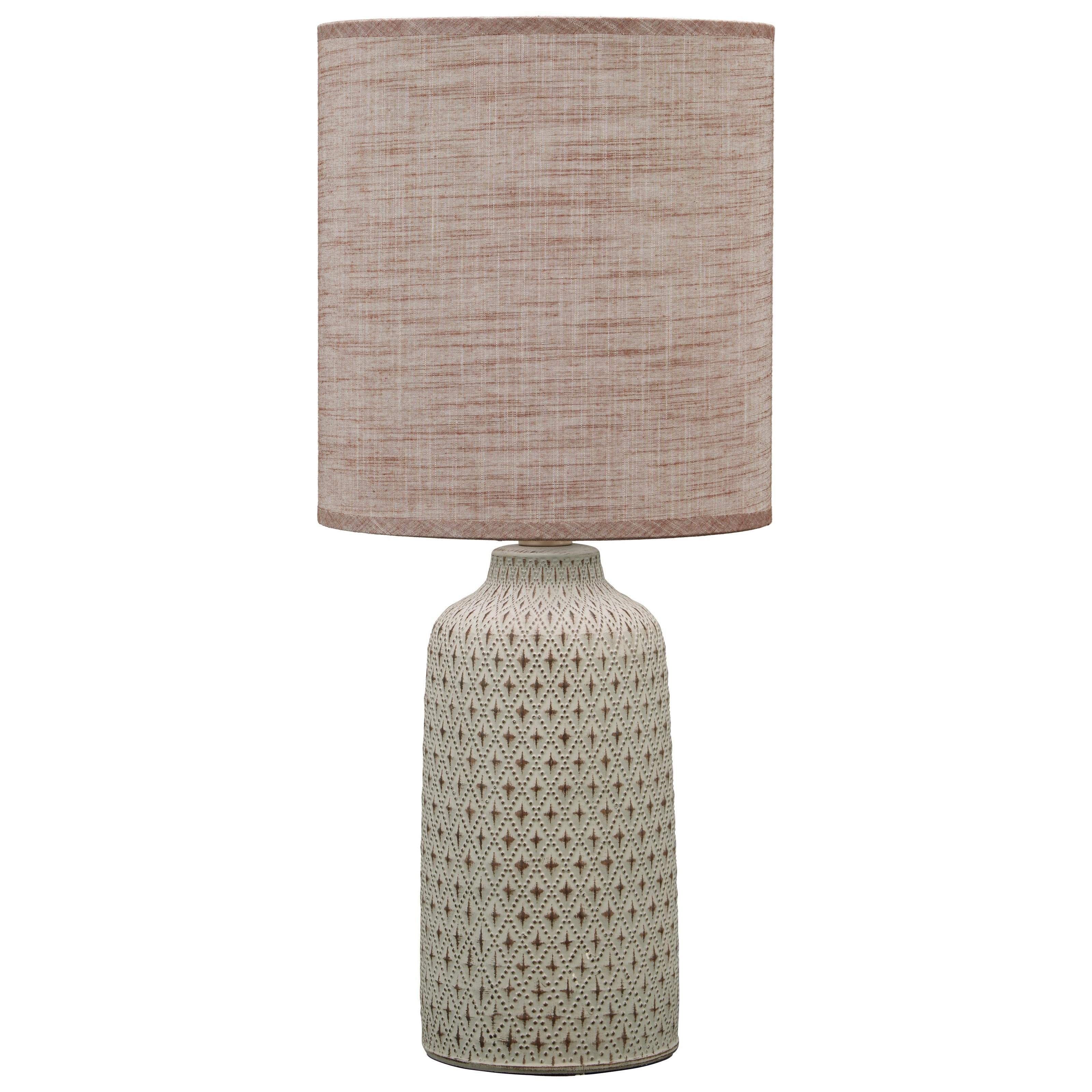 Donnford Brown Ceramic Table Lamp
