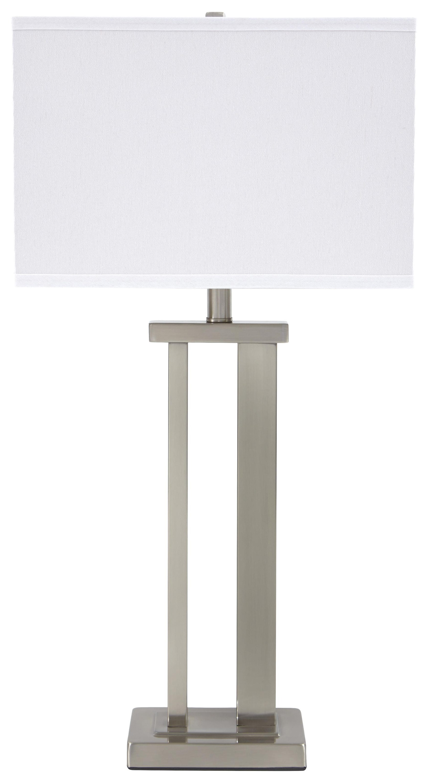 Lamps - Contemporary Set of 2 Table Lamps by Signature Design by Ashley at HomeWorld Furniture
