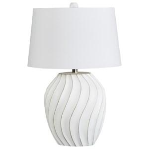 Hidago White Paper Table Lamp
