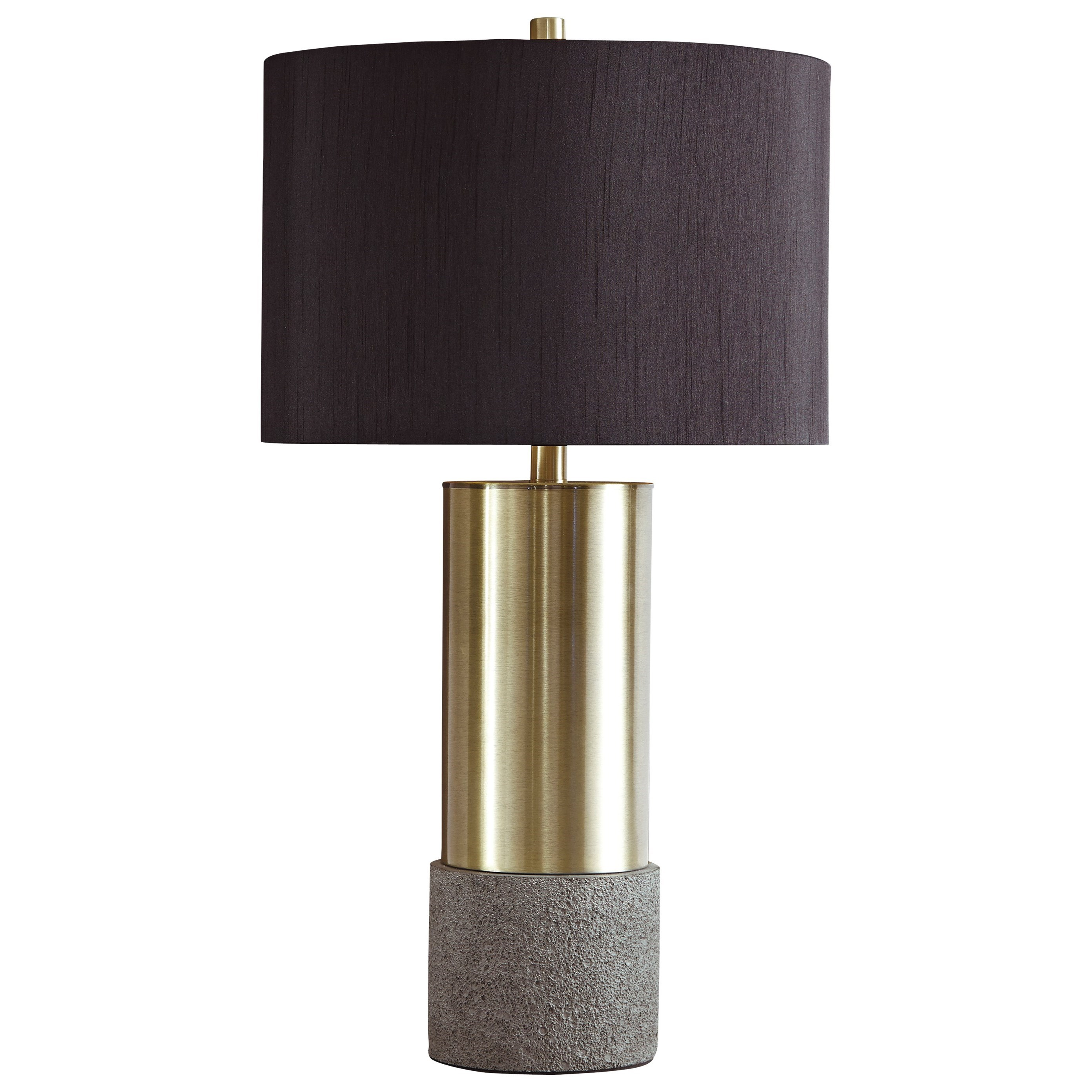 Lamps - Contemporary Set of 2 Jacek Metal Table Lamps by Signature Design by Ashley at Northeast Factory Direct