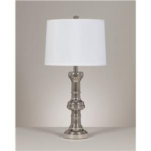 Signature Design By Ashley Lamps Contemporary Set Of 2