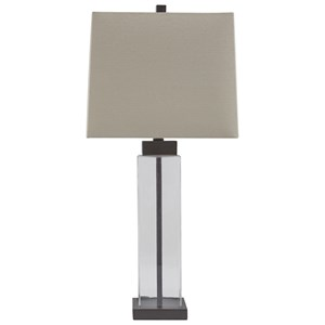 Set of 2 Alvaro Glass Table Lamps
