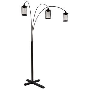 Maovesa Bronze Metal Arc Lamp