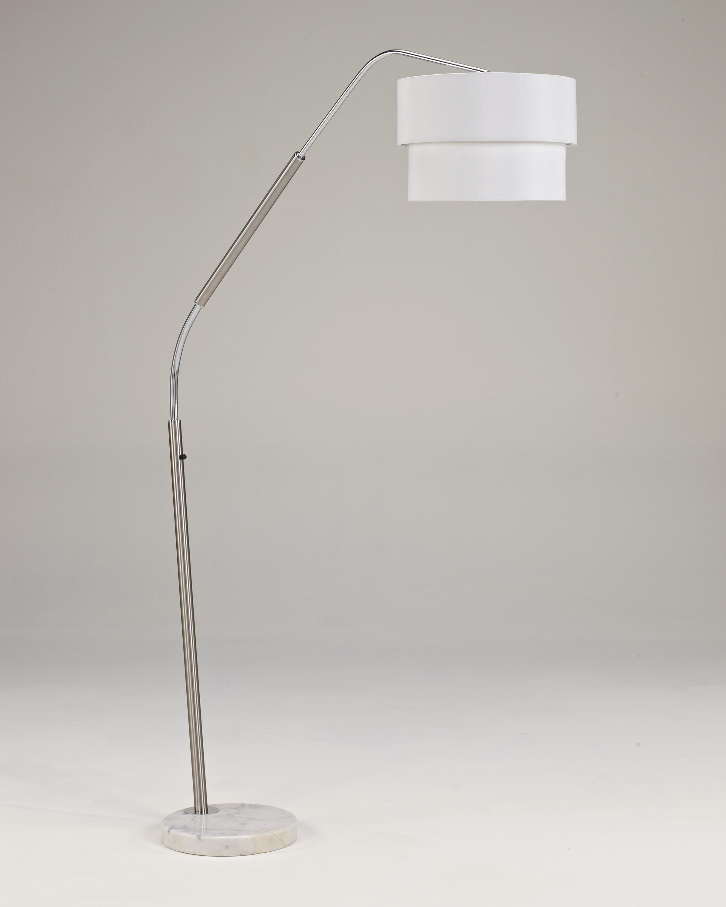 Lamps - Metro Modern Suzu Metal Arc Lamp by Signature Design at Fisher Home Furnishings