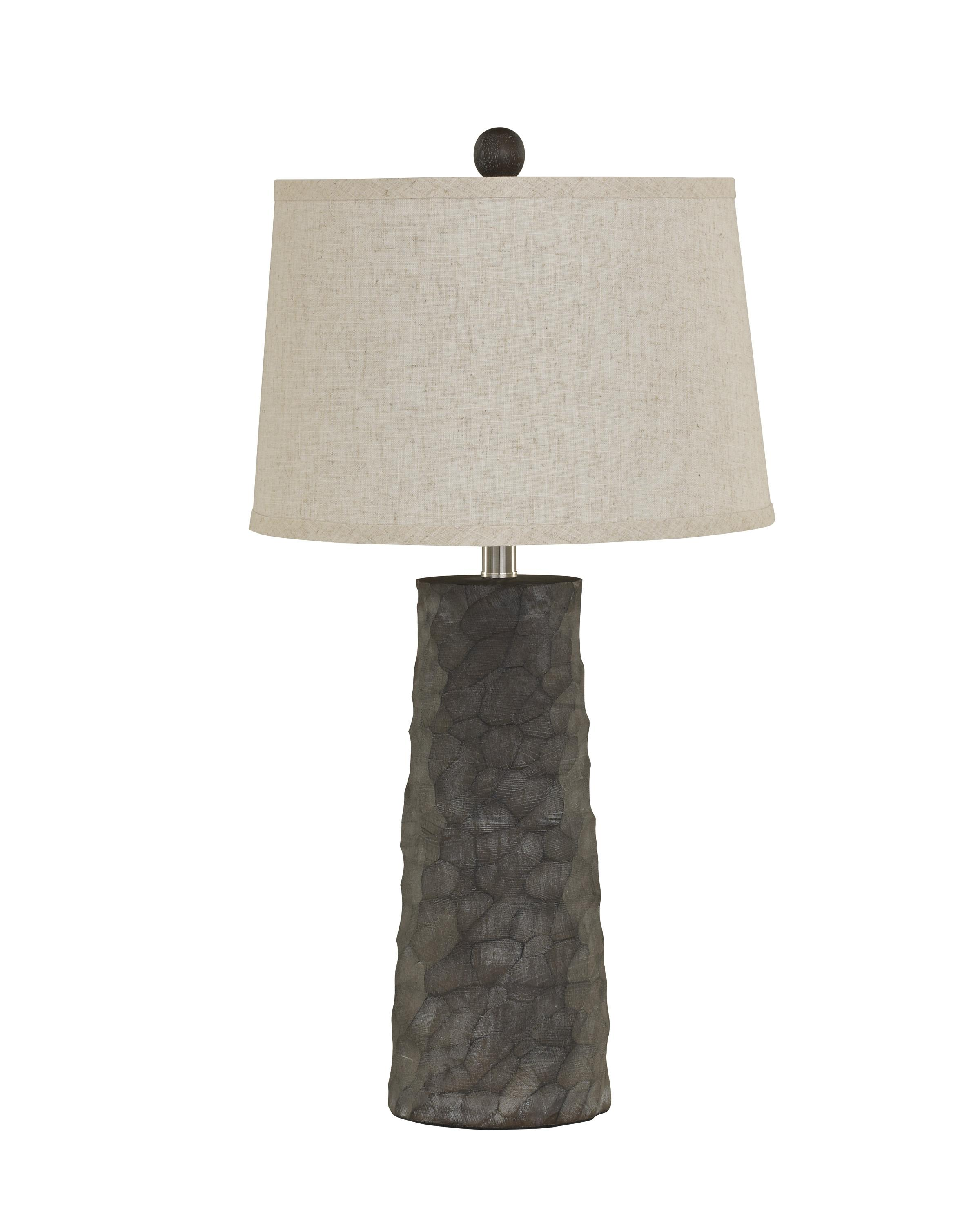 Lamps - Vintage Style Set of 2 Sinda Poly Table Lamps by Ashley (Signature Design) at Johnny Janosik