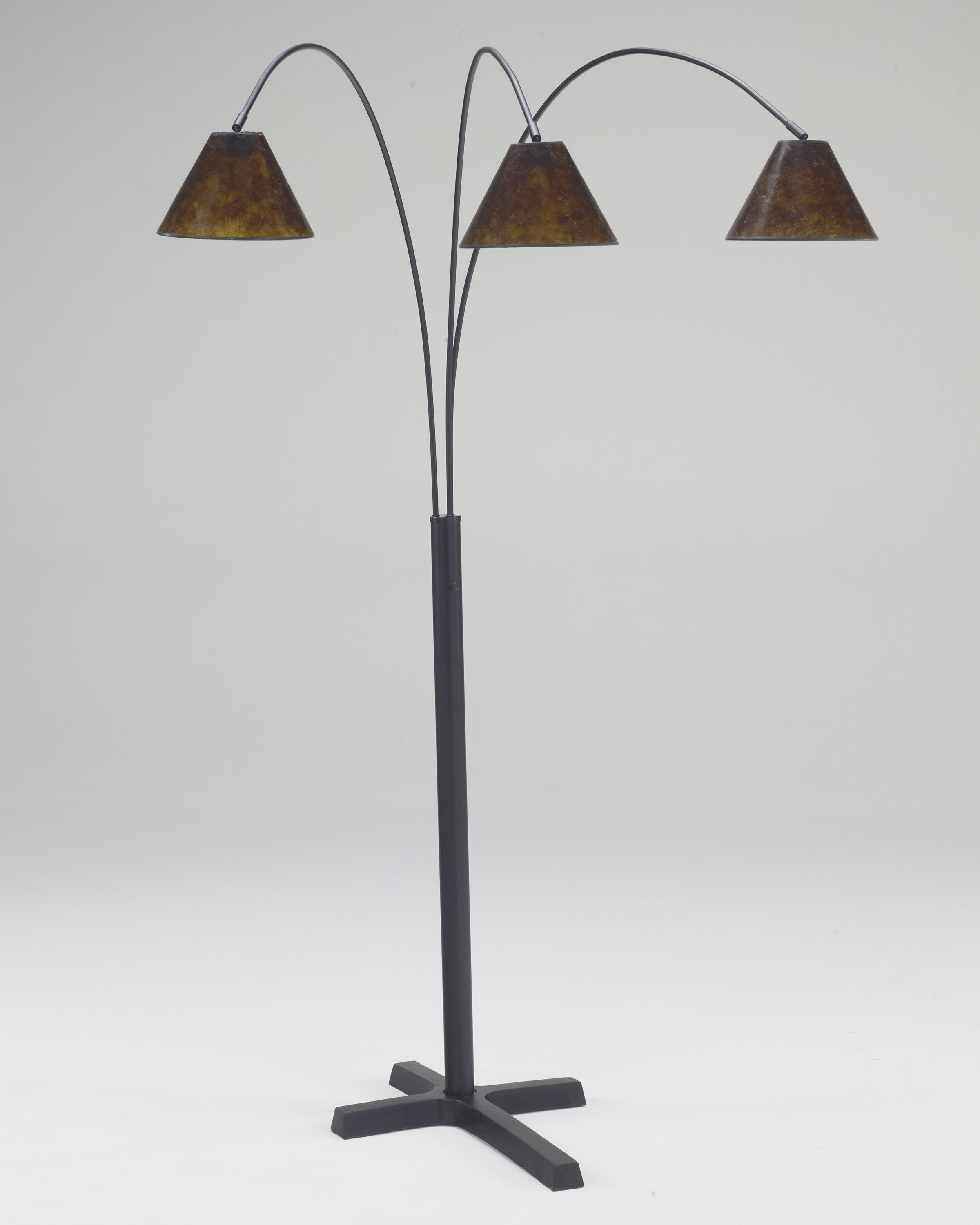 Lamps - Vintage Style Sharde Metal Arc Lamp by Signature Design by Ashley at Northeast Factory Direct