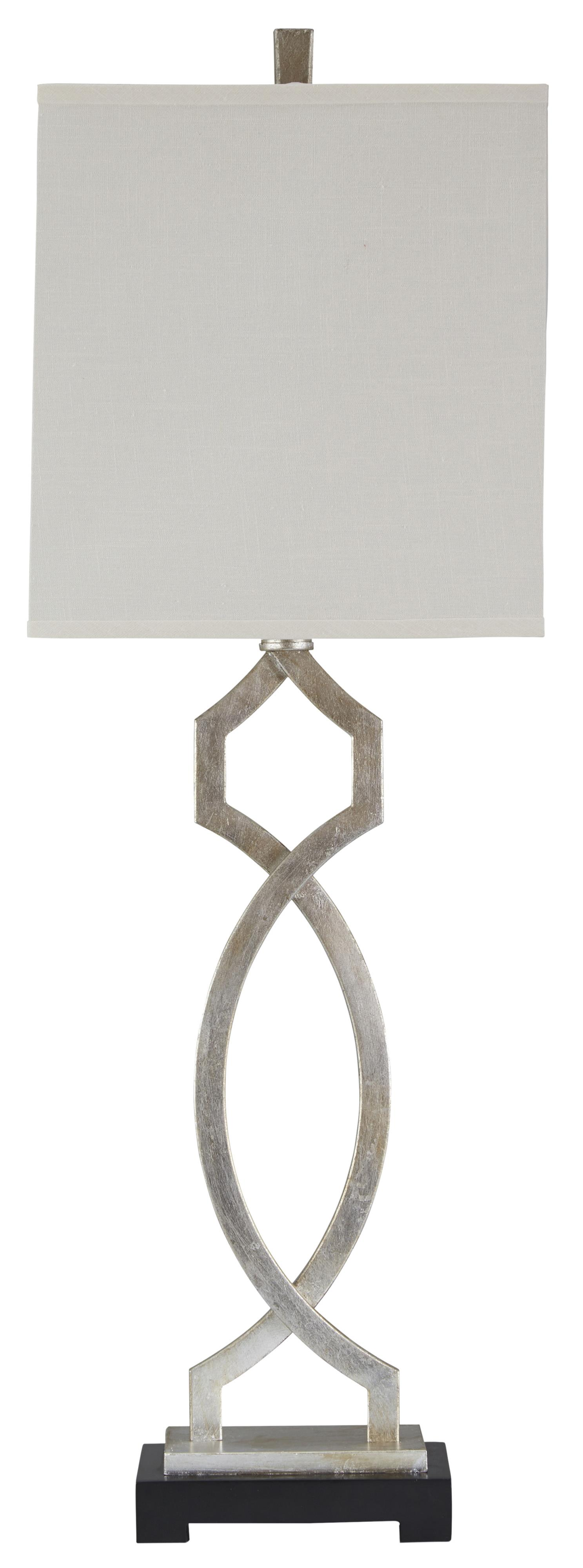 Lamps - Traditional Classics Taggert Metal Table Lamp by Signature Design at Fisher Home Furnishings