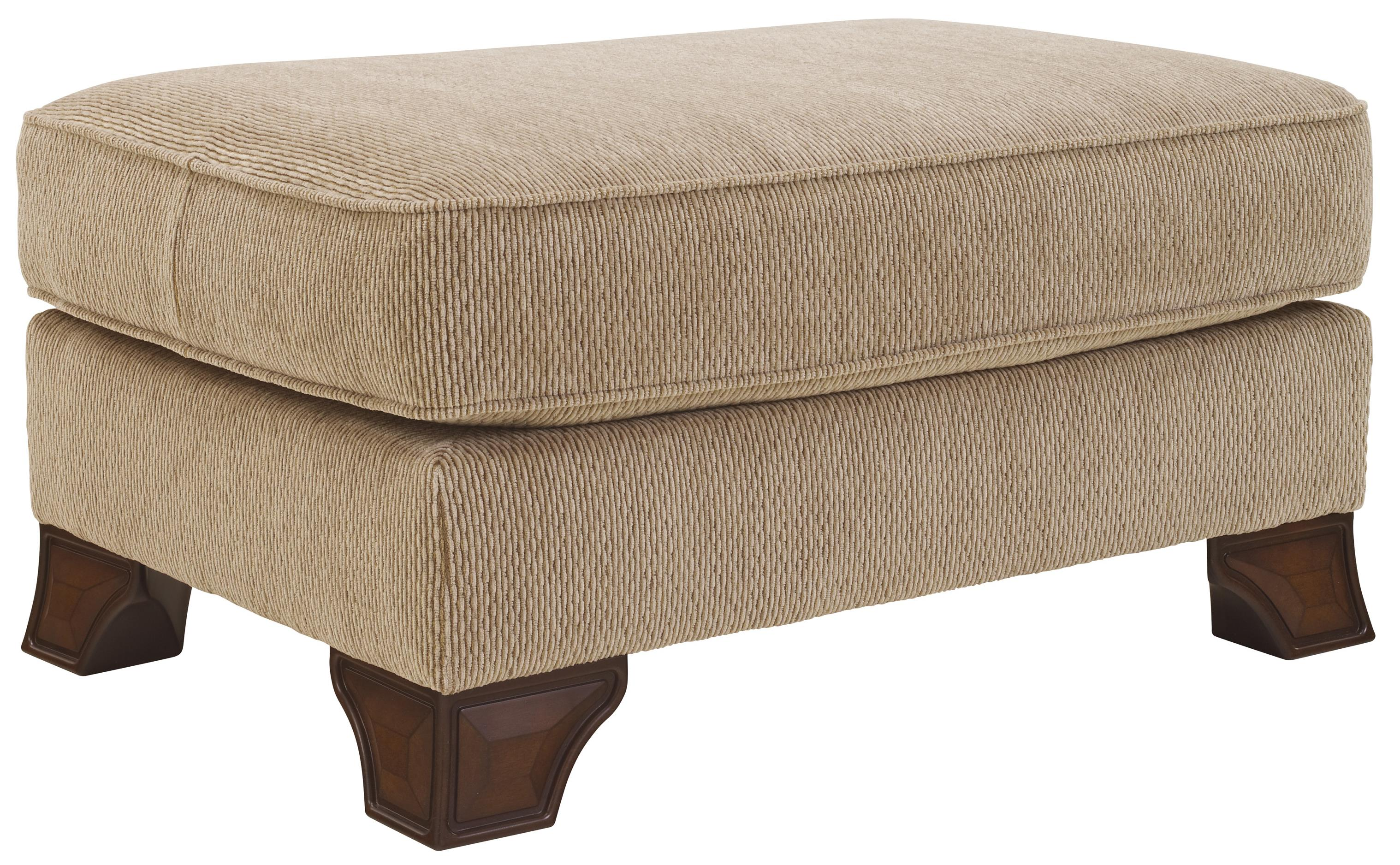 Lanett Ottoman by Signature at Walker's Furniture