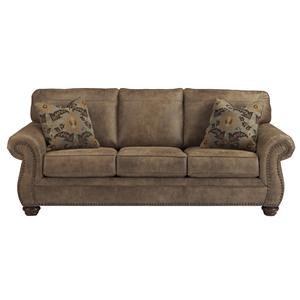 Traditional Roll Arm Sofa