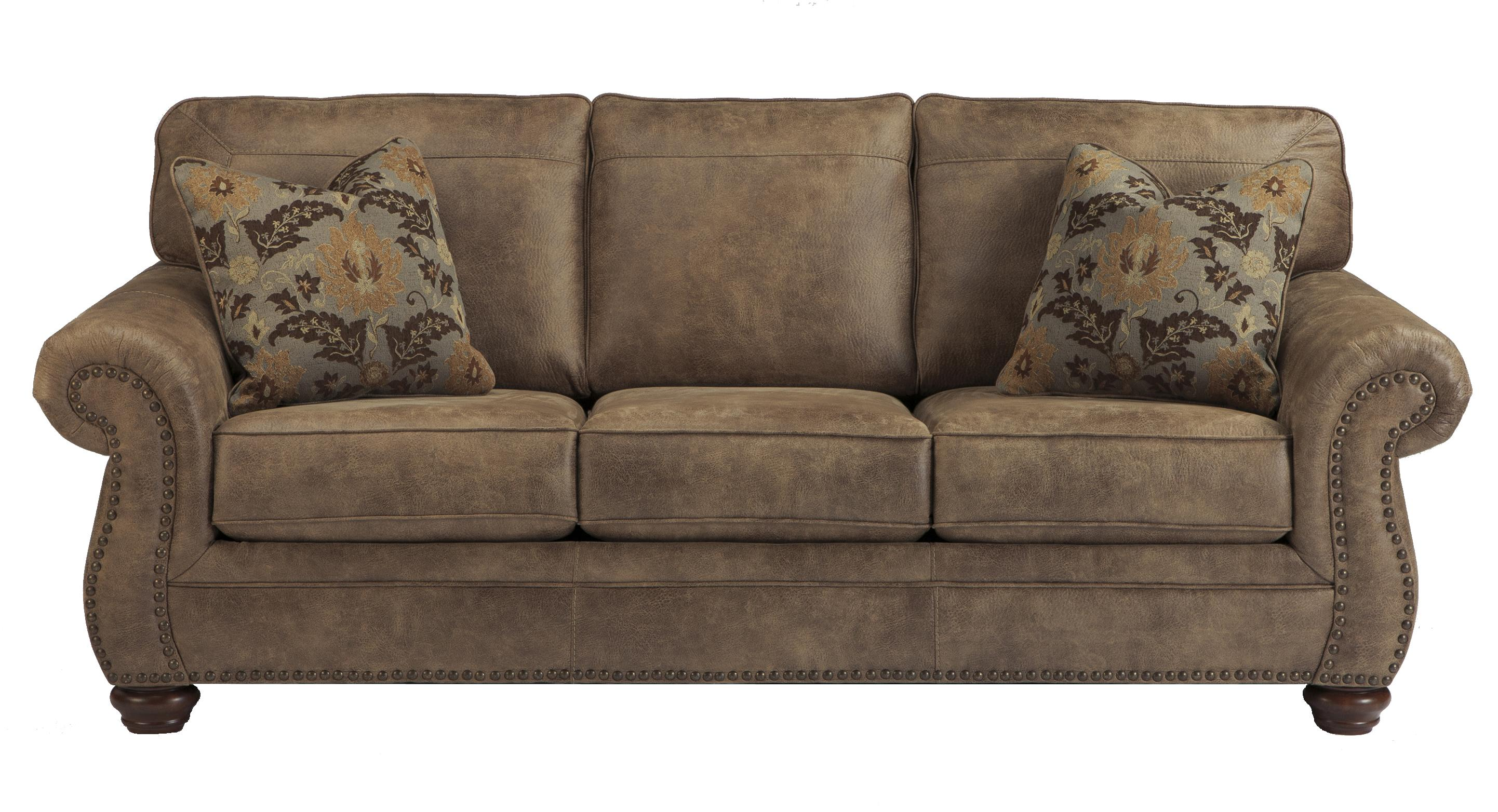 Larkinhurst - Earth Queen Sofa Sleeper by Signature Design by Ashley at Suburban Furniture