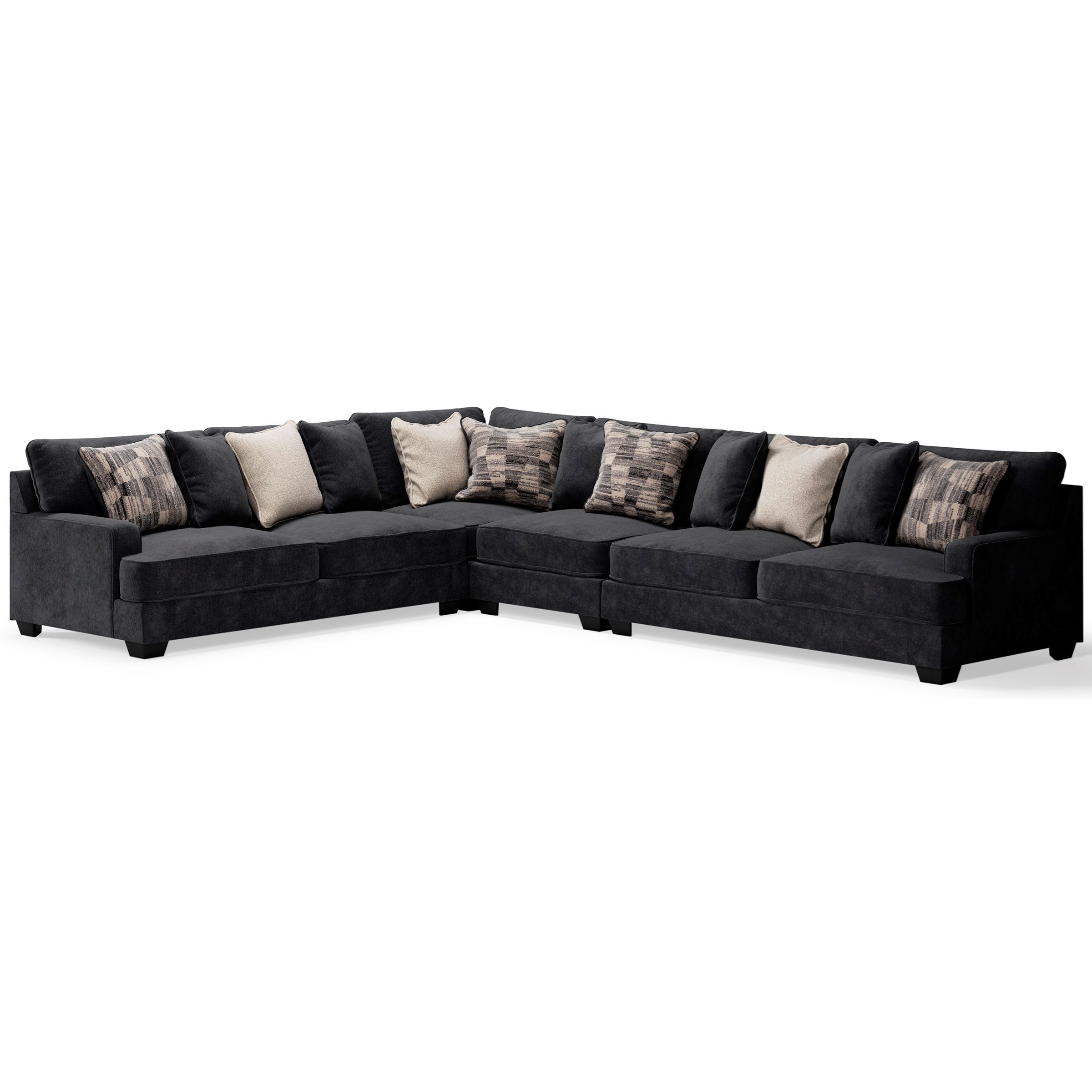 Lavernett 4-Piece Sectional by Ashley (Signature Design) at Johnny Janosik