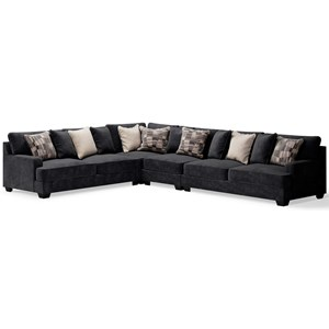 Contemporary 4-Piece Sectional