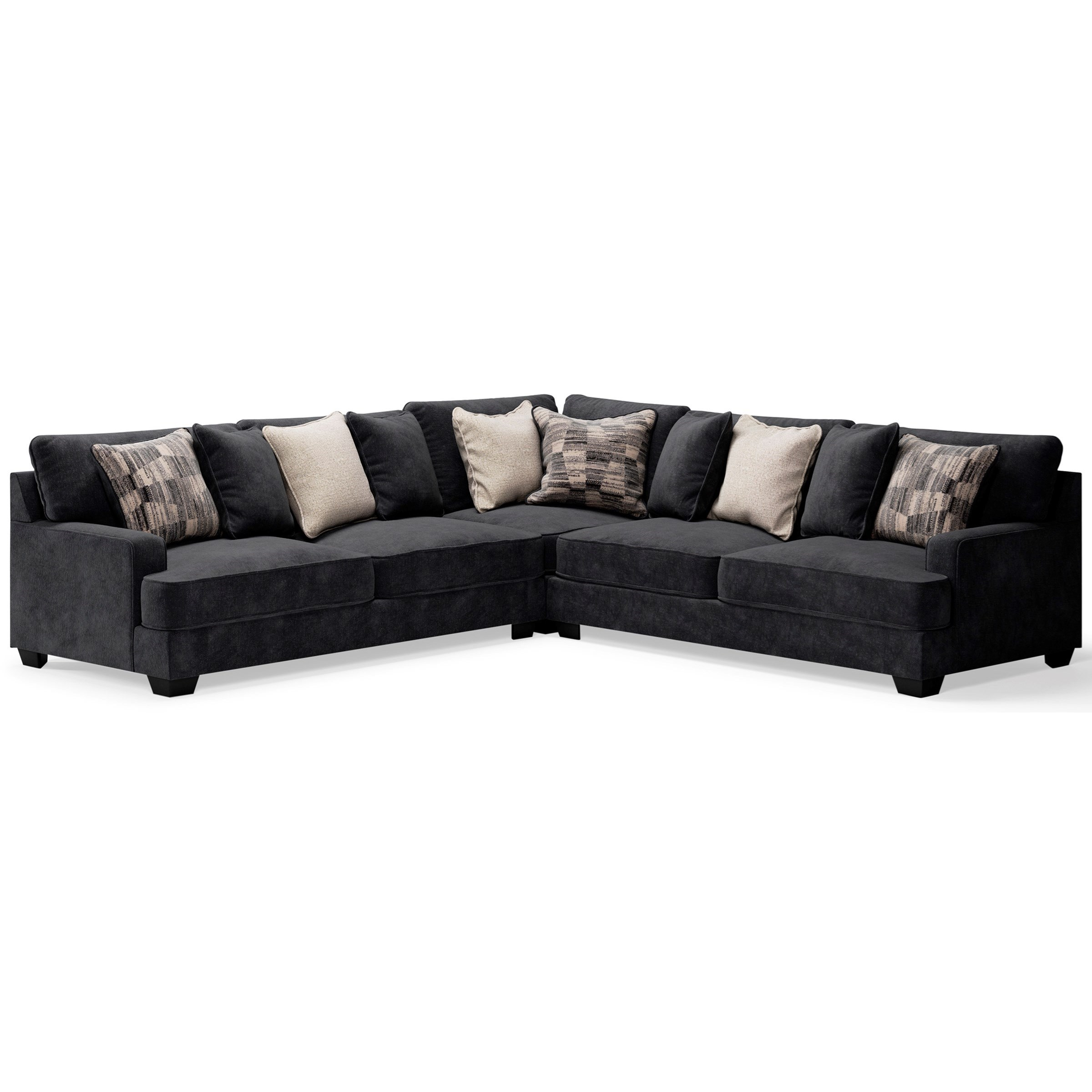 Lavernett 3-Piece Sectional by Signature at Walker's Furniture