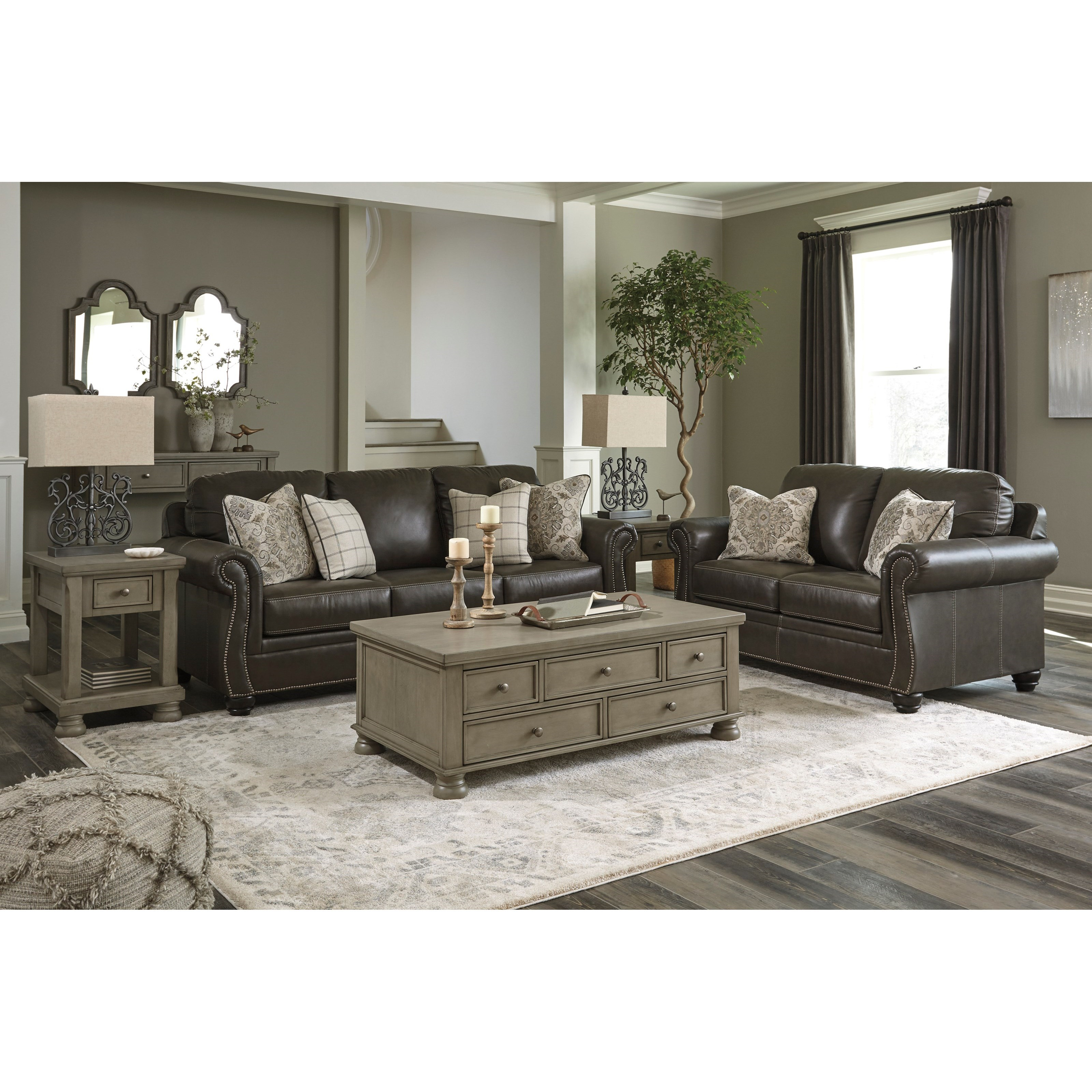 Lawthorn Stationary Living Room Group by Ashley (Signature Design) at Johnny Janosik