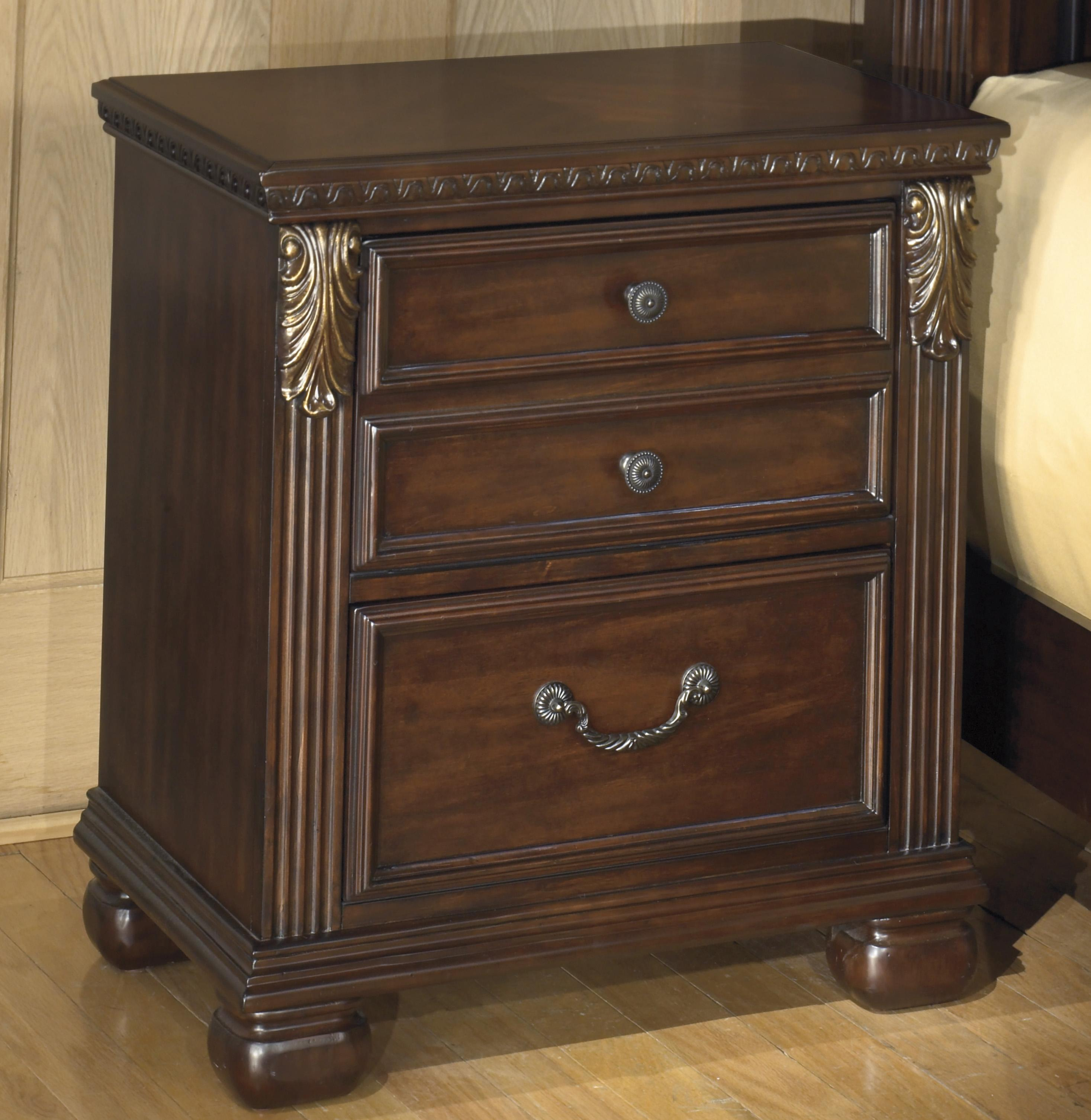 Leahlyn 2-Drawer Night Stand by Signature Design by Ashley at Northeast Factory Direct