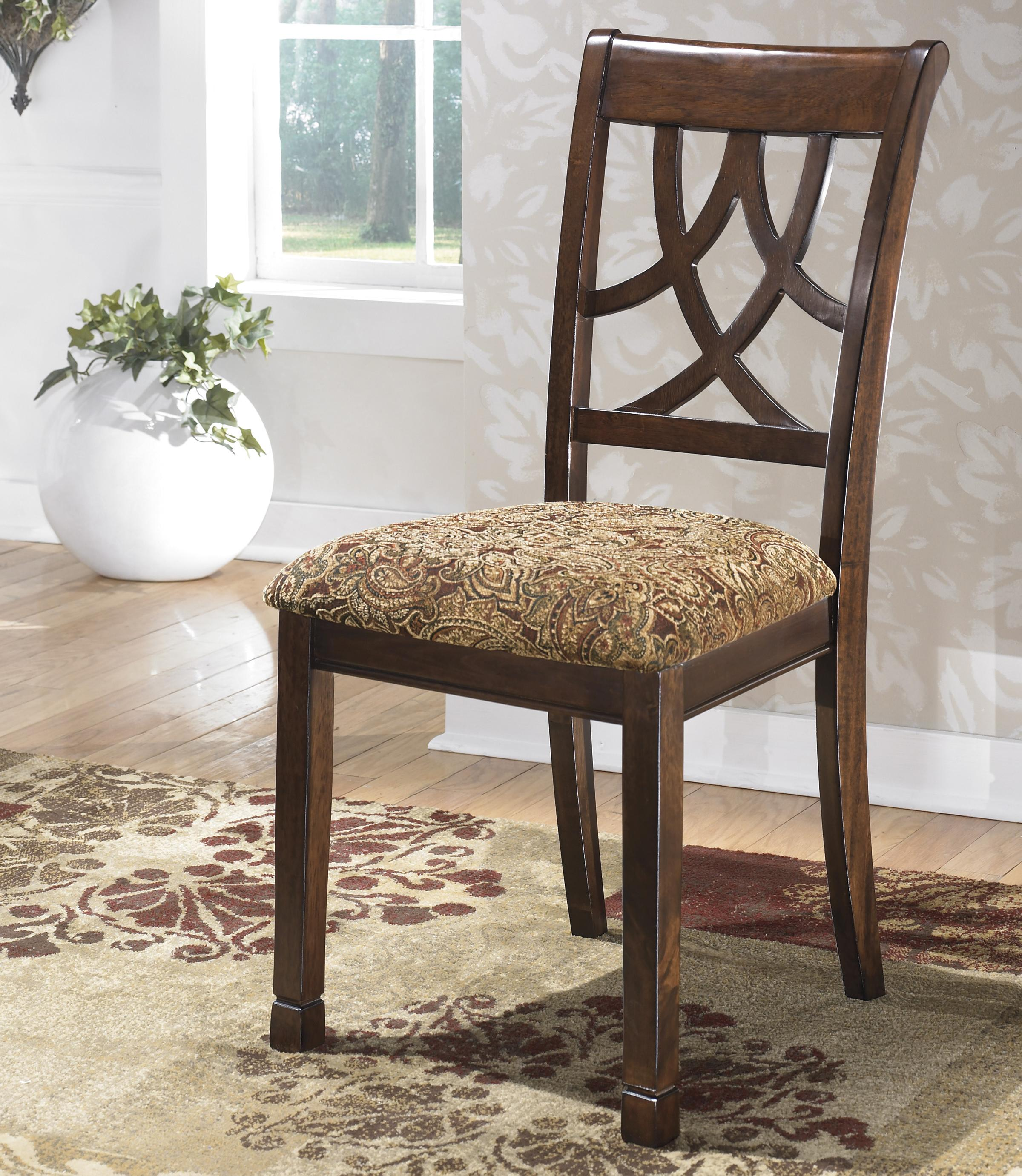Leahlyn Dining Upholstered Side Chair by Signature Design by Ashley at Catalog Outlet