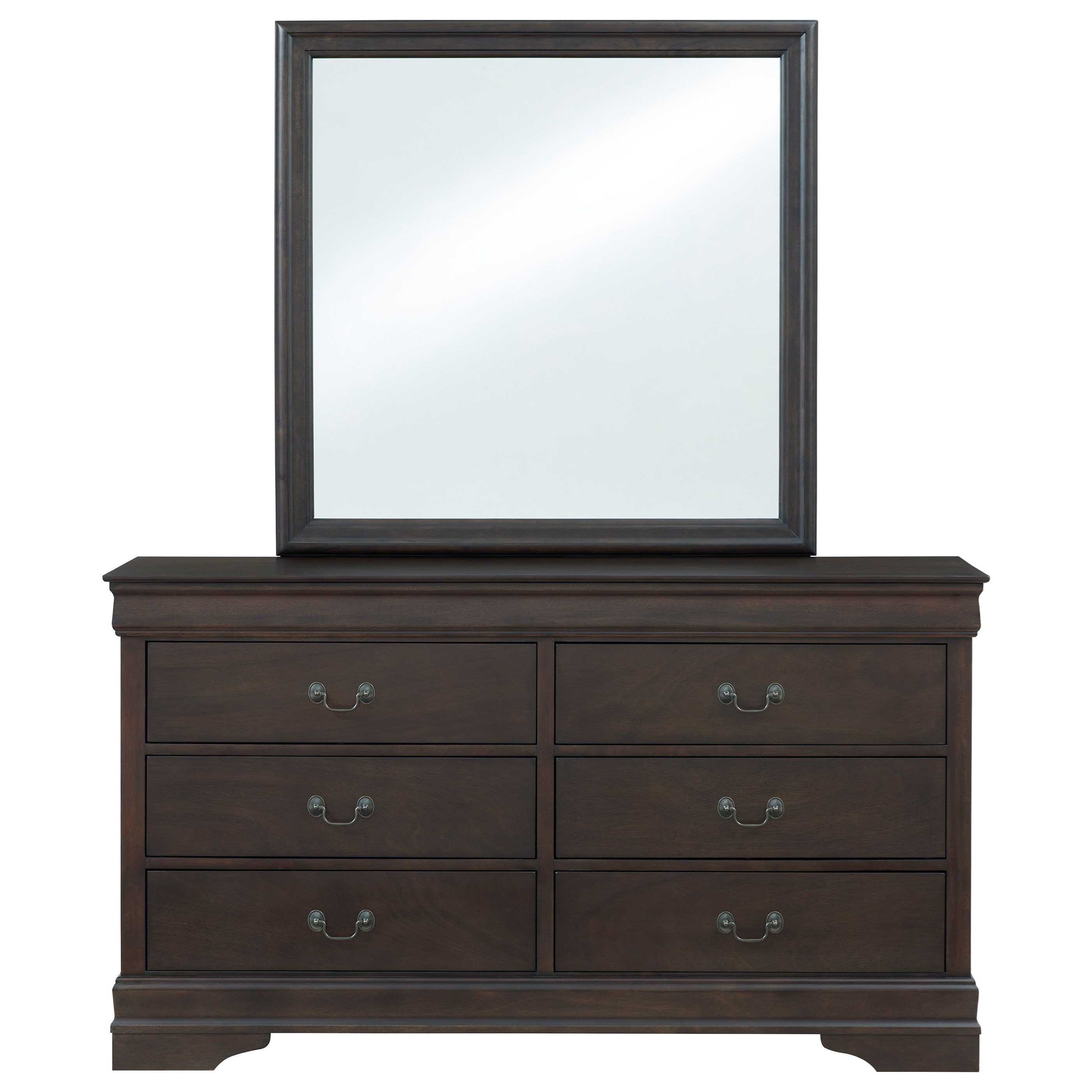 Leewarden Dresser & Mirror by Signature Design by Ashley at Northeast Factory Direct