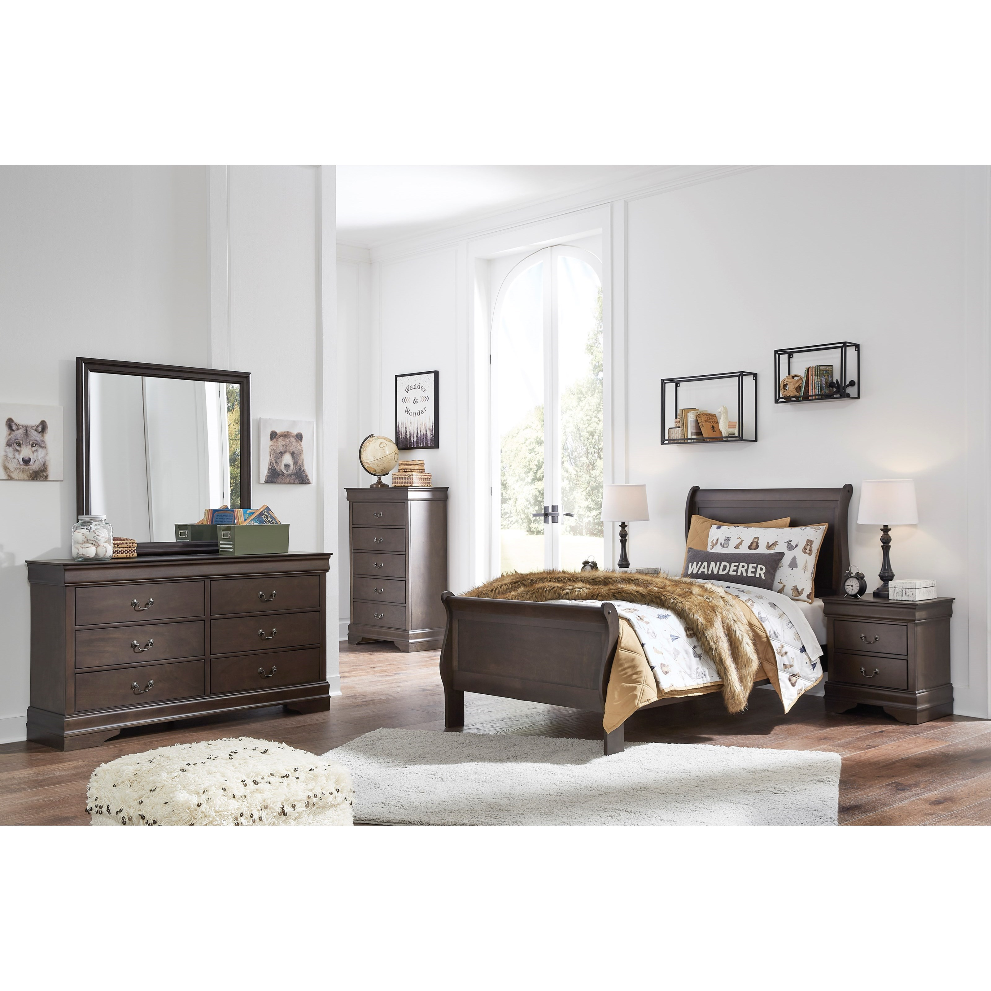 Leewarden Twin Bedroom Group by Signature Design by Ashley at Smart Buy Furniture