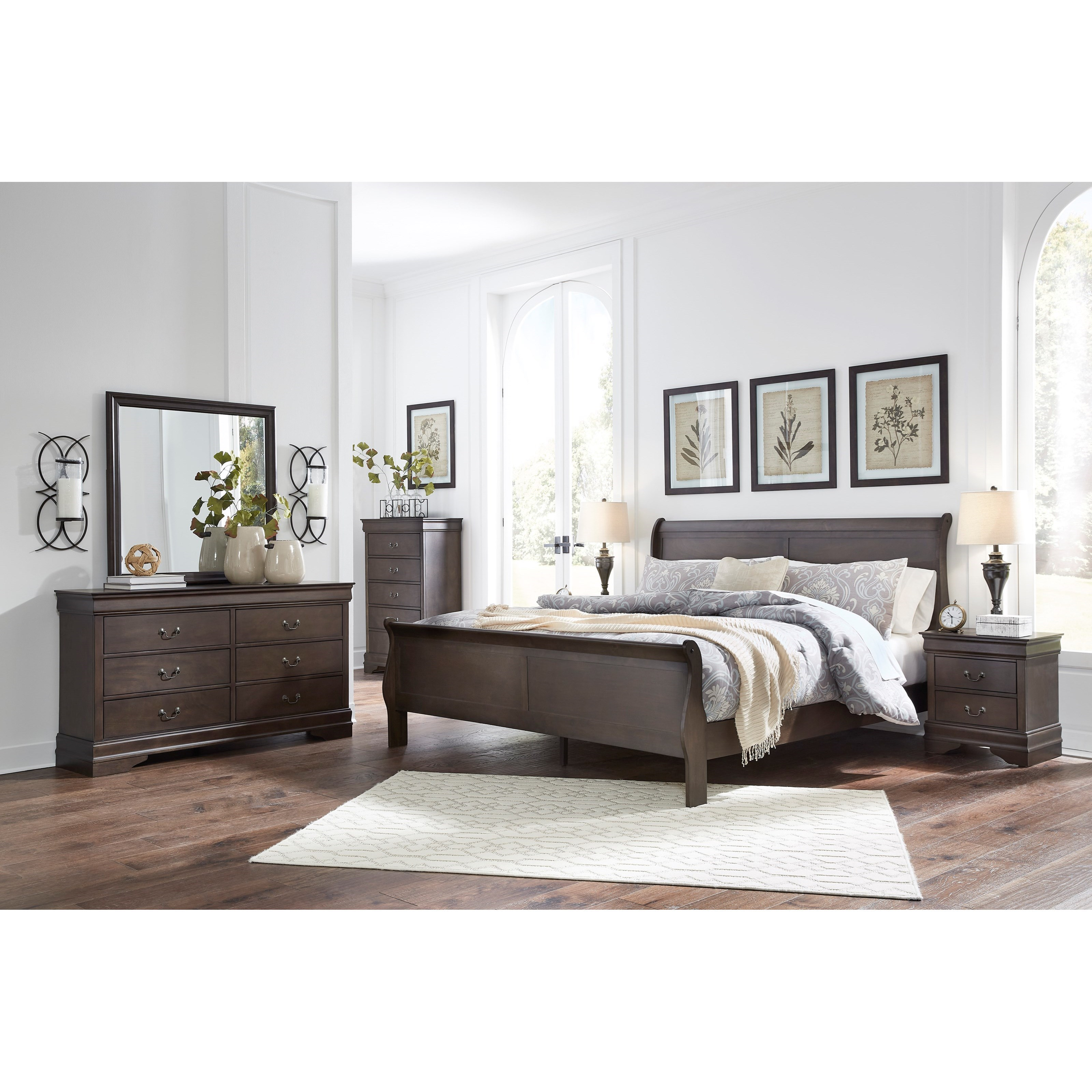Leewarden California King Bedroom Group by Signature Design by Ashley at Northeast Factory Direct