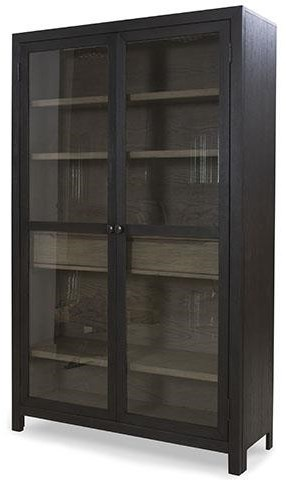 Lenston Accent Cabinet Bookcase by Signature Design by Ashley at Sam Levitz Furniture