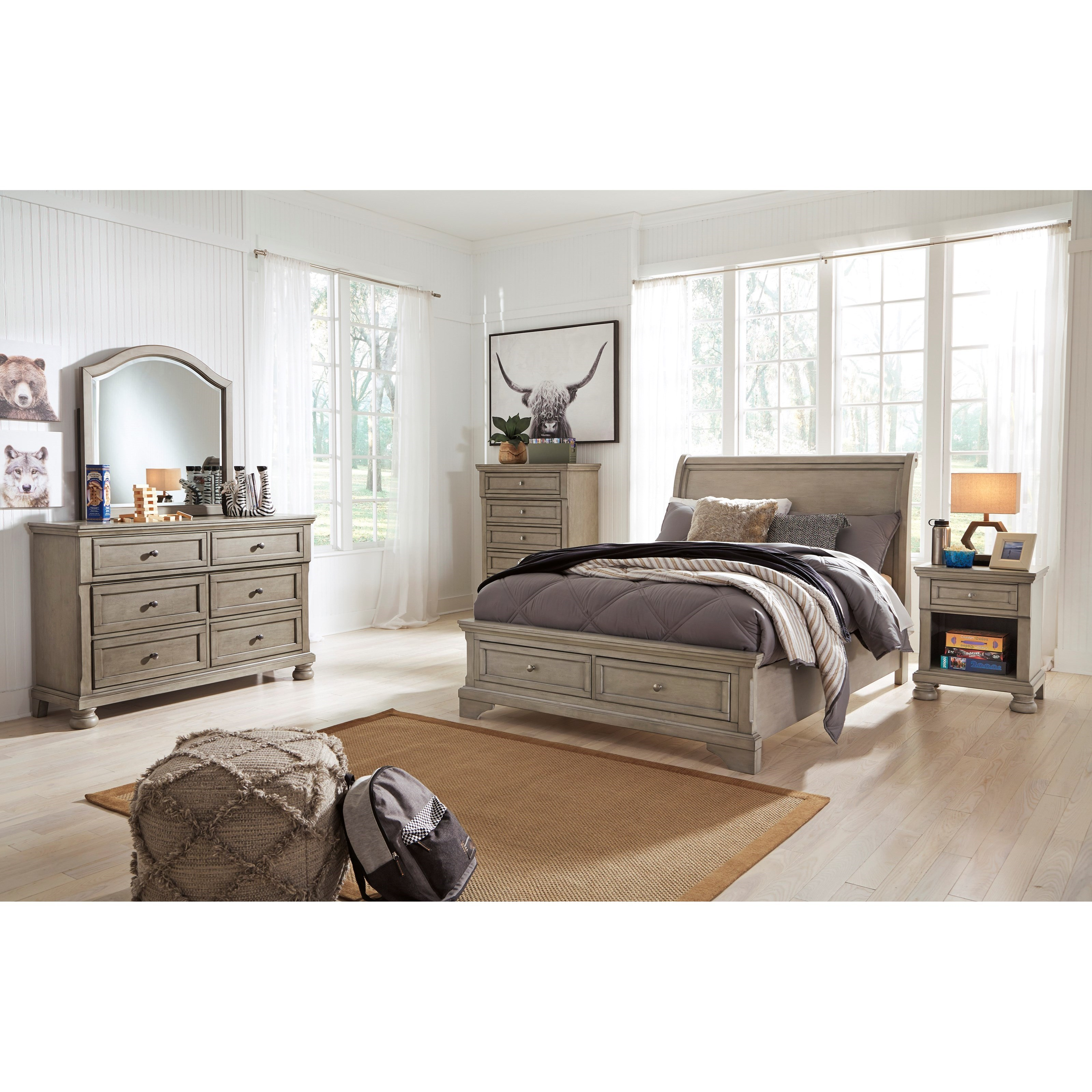 Lettner Full Bedroom Group by Signature Design by Ashley at Northeast Factory Direct
